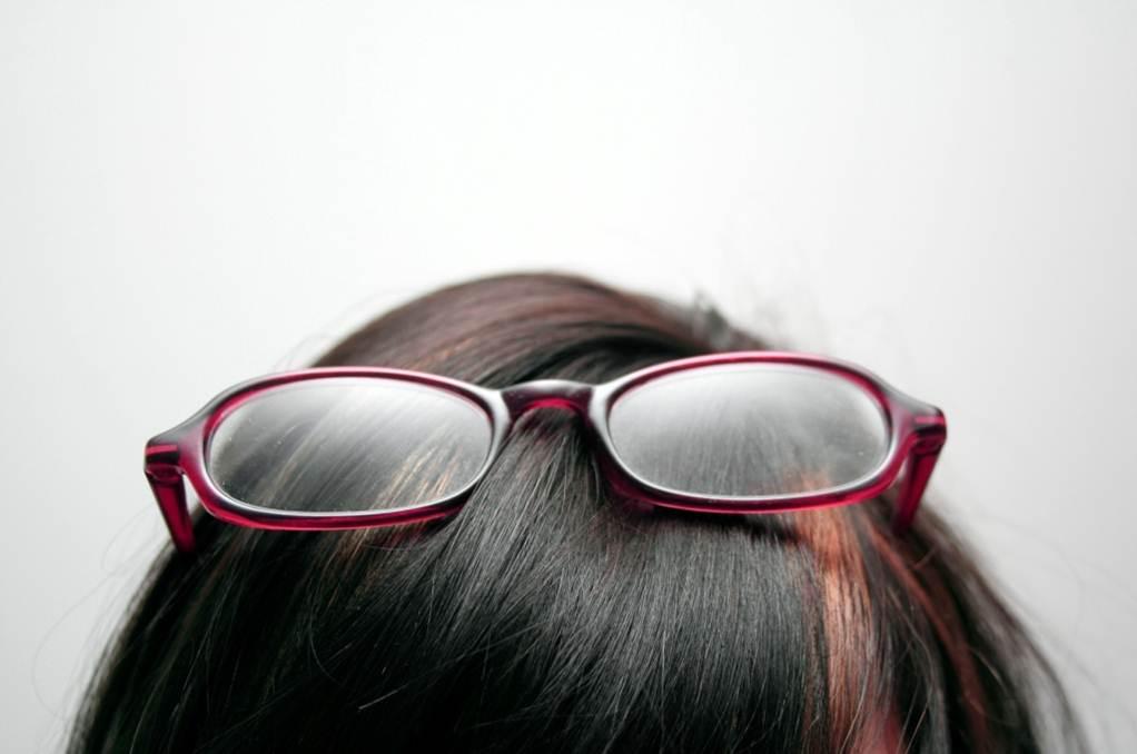Kundenbrille