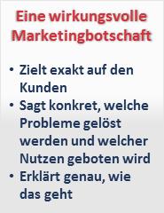 marktingbotschaft